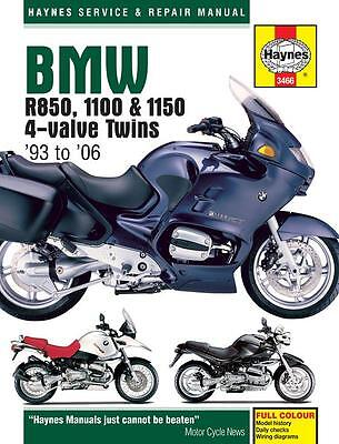 BMW R1150R R1150 Rockster R1150GS Adventurer 2001 - 2004 Haynes Manual 3466 NEW