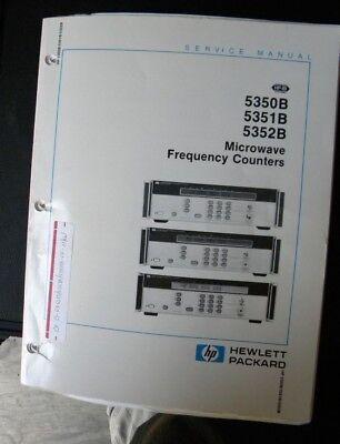 Hp 5350b5351b5352b Microwave Counter Service Manual