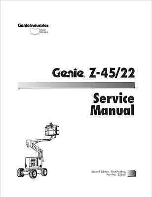 Genie Z-45-22 Service Manual (B223)