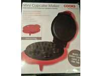 Mini cupcake maker. New in box