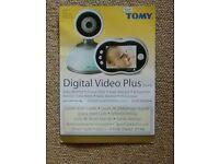 Tomy digital video plus baby monitor TDV450