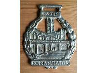 Roman Baths Horse Brass - Bath