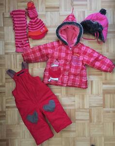 Habit neige - Souris Mini - 18 mois