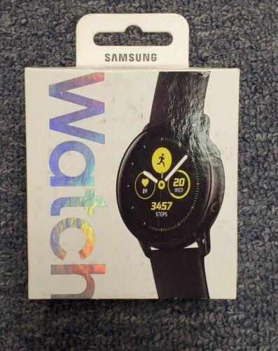 Samsung SM-R500 Galaxy Watch Active (40mm) Bluetooth Black  Pristine