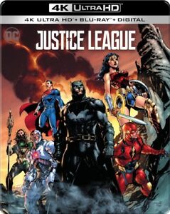 Justice League 4K Blu-Ray Sealed