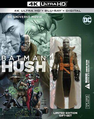 Batman Hush Limited Edition Figurine Gift Set (4K Ultra HD + Blu-ray + Digital)