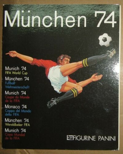 Panini Official Album Fifa World Cup Germany 1974 Complete Reprinted Reimpreso