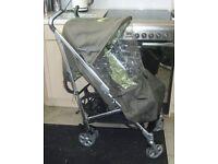 mamas and papas ziko frankie layback buggy stroller pram with raincover
