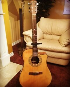 Fender CD-14OSCE Acoustic Electric w/ stand