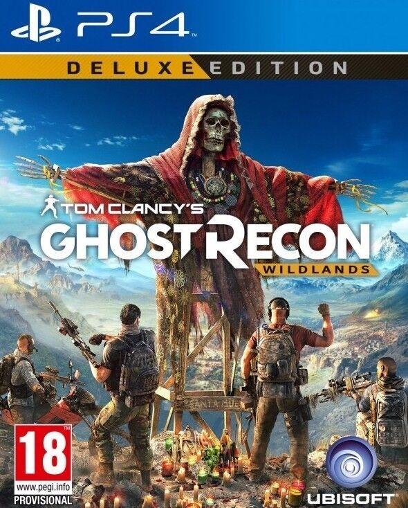ghost recon wildlands deluxe edition ps4