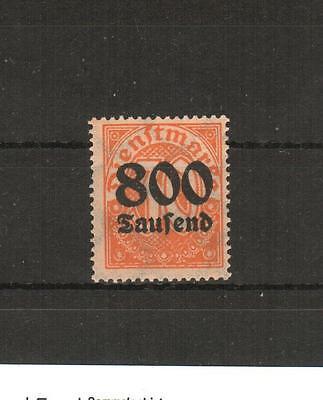 H14046  Deutsches Reich  Dienst  Mi. Nr. 95 X I  Postfrisch geprüft