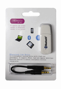 USB Bluetooth Wireless 3.5mm Stereo Music Receiver Adapter