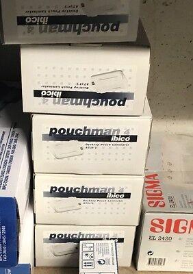 Gebraucht, Ibico pouchman 4 Desktop Etui Kaschiermaschine Laminieren System Neu!!! gebraucht kaufen  Langenfeld