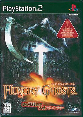 Used PS2 Hungry Ghosts   Japan Import (Free Shipping)