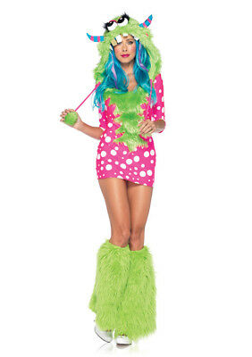 spired Melody 2pc. Leg Ave Womens Halloween Costume Size S/M (Melody Monster Kostüm)