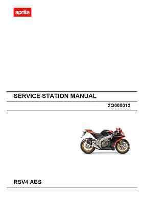 Aprilia RSV4 ABS Service Station Manual (B14)