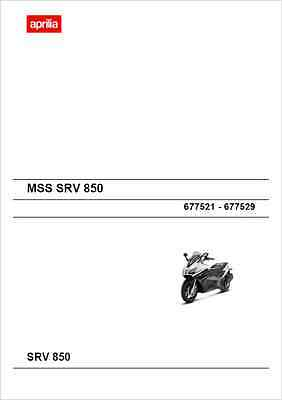 Aprilia SRV 850 Service Manual 2012- (B163)