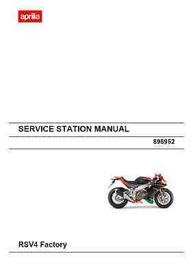 Aprilia RSV4 Factory Service Station Manual (B15)