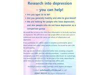 Research into Depression