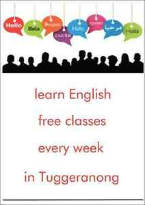 Learn English, Free Classes Every Week in Canberra Gowrie Tuggeranong Preview