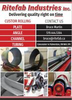 Custom steel plate and profile rolling