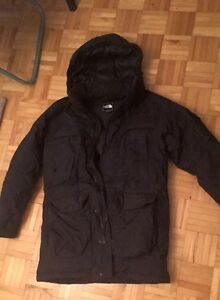 Manteau noir The North Face (homme)