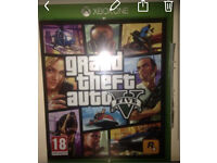 Grand Theft Auto V & Halo 5 for Xbox one