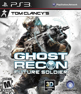 Tom Clancy s Ghost Recon Future Soldier PS3 FUTURE SHOP EDITION New RARE  - $27.88