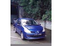 2007 RENAULT CLIO 1.2 PETROL BREAKING FOR PARTS