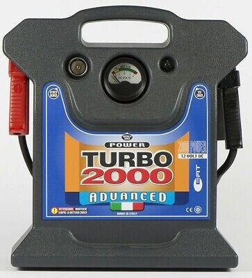 Avviatore Booster portatile auto 12V 2000A