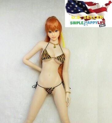 "MCTOYS F-078 1//6 Bodysuit For 12/"" PHICEN Hot Toys VERYCOOL Female Figure ❶USA❶"