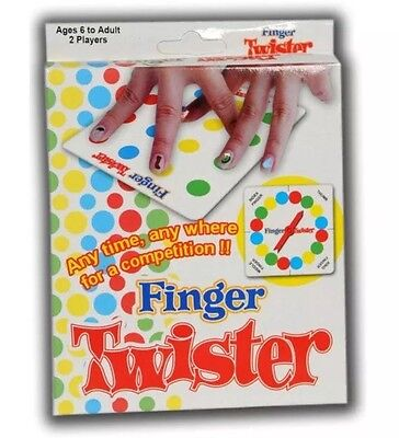 - Mini Finger Twister Board Game Funny Finger Version Table Party Game US Seller