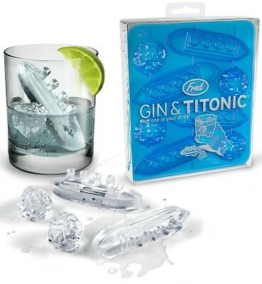 Ice Cube Trays Fred Gin and
