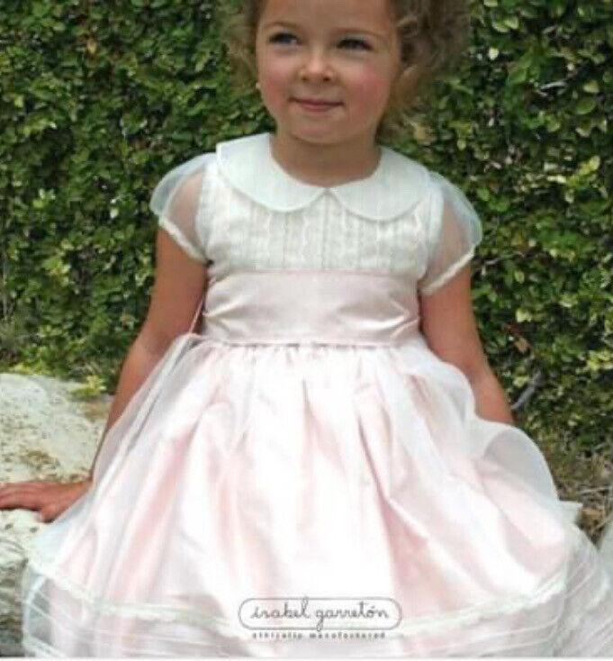 Isabel Garreton Silk Dress, Size 12-18 Months, Worn Once, Free Cardigan!