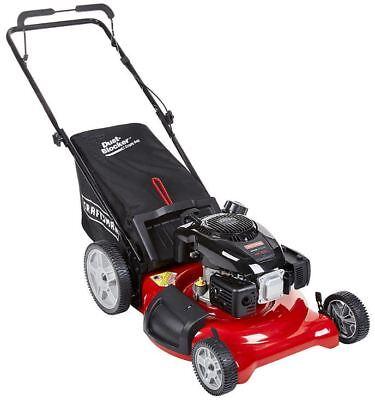 "Craftsman 149cc 21"" Kohler 675 OHV Engine, Gas Bag Push Lawn Mower High Wheels"