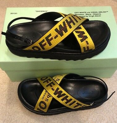 Authentic Off-white Industrial Belt Sandal Size 38 New In box