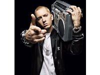2 x Eminem tickets Bellahouston Park Glasgow