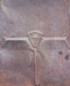 Antique barn roof tin with star Cornwall Ontario image 2
