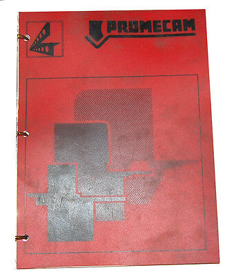 Promecam Gh Series Guillotine Hydraulic Shears Complete Owners Manual