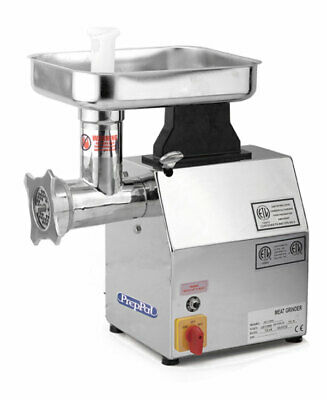 1 Hp Commercial Electric Meat Grinder Nsf Stainless Steel 12 Hub 250lb Hr