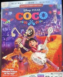 Coco (Blu-ray + DVD + Digital Copy) w/ Collector Slipcover