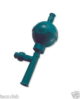 Pera de Goma 3 vias Verde /Pipette Fillers with 3 valves GREEN