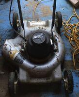 Black and Decker lawn mower