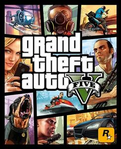 Excellent condition new PS4 GTA V for Sale