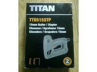 Titan 15mm Nailer /Stapler