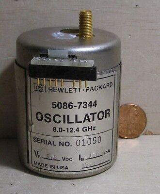 Hp Yig Oscillator 5086-7344 ... 8.0-12.4ghz ... 5.8vdc