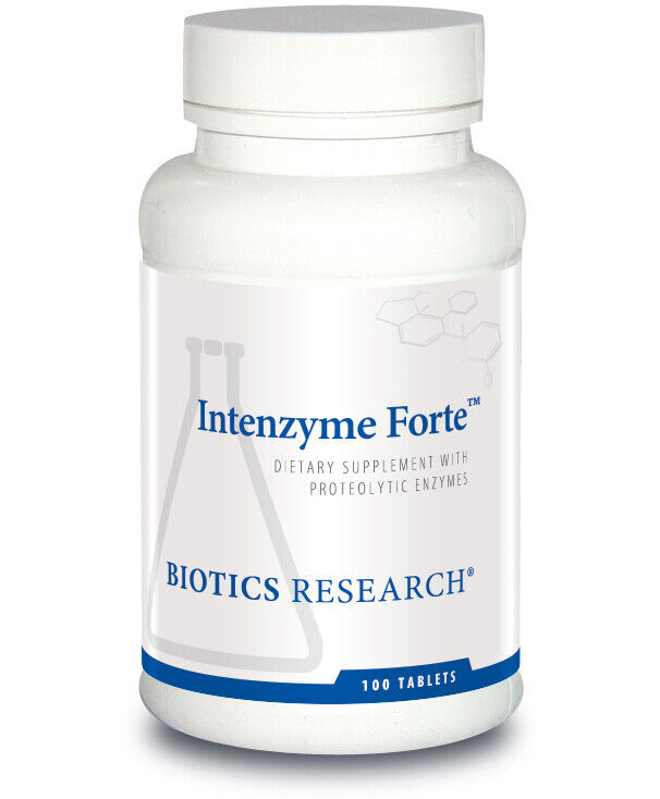 Biotics Research Intenzyme Forte 100 Tablets 11/2022