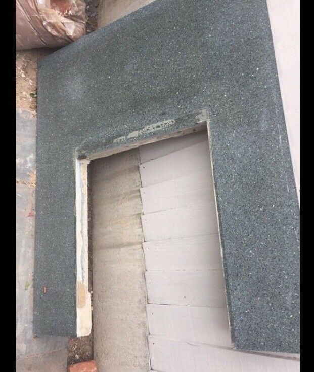 Free real marble fire surround