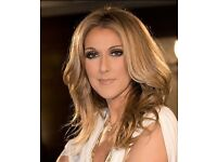 Celine Dion Tickets, 5th August SSE Hydro, Glasgow, 2 x seated