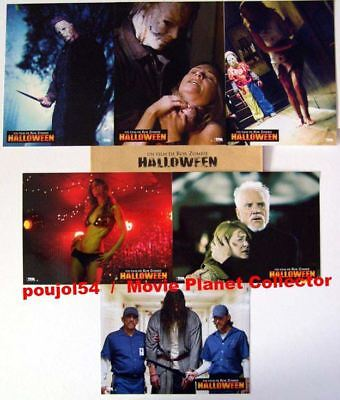 HALLOWEEN - Rob Zombie - Set of 6 FRENCH LC